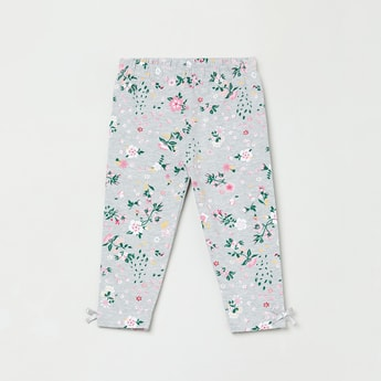 MAX Floral Print Elasticated Leggings