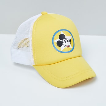 MAX Mickey Mouse Print Cap