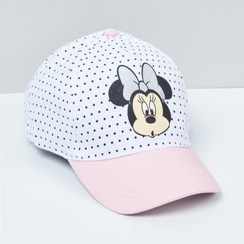 MAX Minnie Mouse Print Baseball Cap