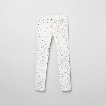 MAX Printed 5-Pocket Jeans