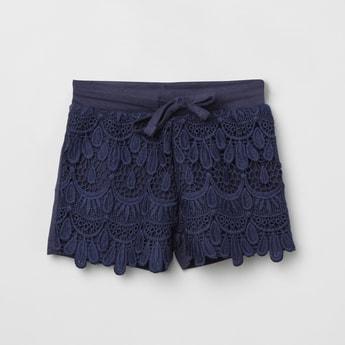 MAX Lace Detail Shorts