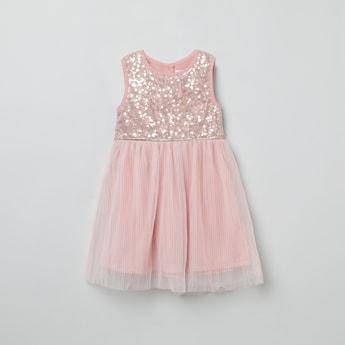 MAX Embellished Sleeveless Dress