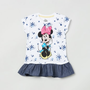MAX Minnie Mouse Printed Top