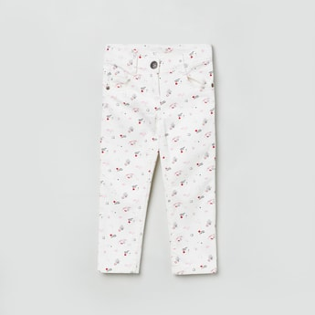 MAX Doodle Print Trousers