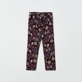 MAX Floral Printed Trousers