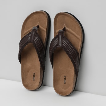 MAX Textured Thong Slippers