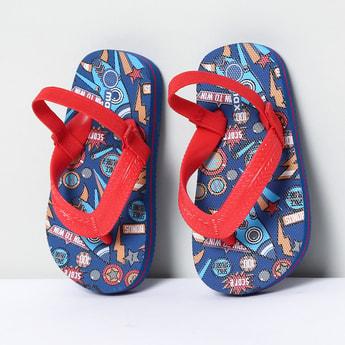 MAX Printed Slingback Slippers