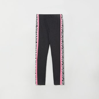 MAX Printed Track Pants with Elasticated Waistband