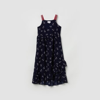 MAX Floral Printed Strappy Dress