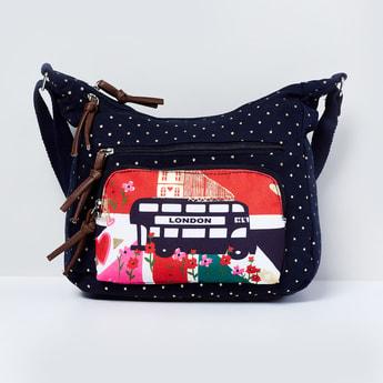 MAX London Print Hobo Bag