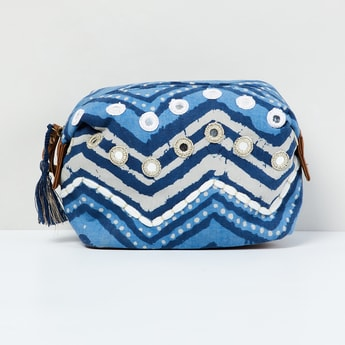 MAX Dyed Pouch with Mirror Work