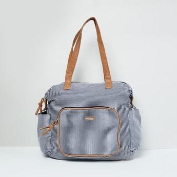 MAX Striped Duffle Bag