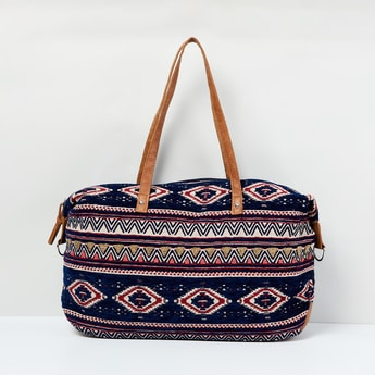 MAX Embroidered Duffle Bag