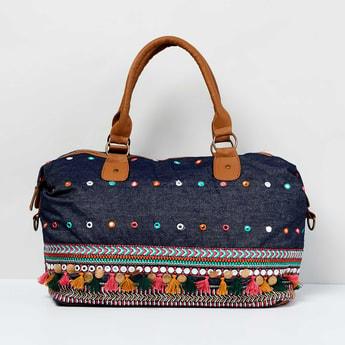MAX Embellished Duffle Bag