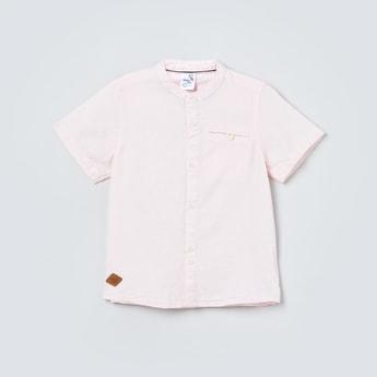 MAX Solid Half Sleeves Shirt