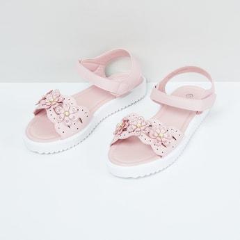 MAX Floral Embellished Sandals