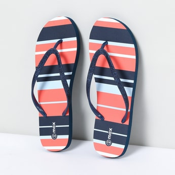 MAX Striped Flipflops