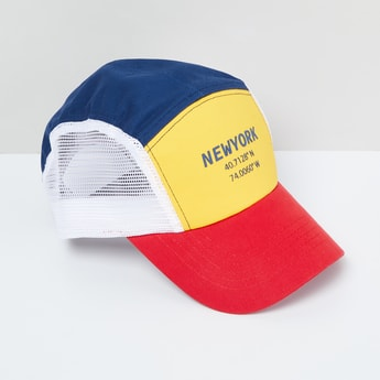 MAX Printed Colourblocked Cap