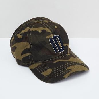 MAX Camouflage Print Baseball Cap