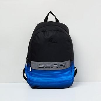 MAX Printed Colourblock Backpack