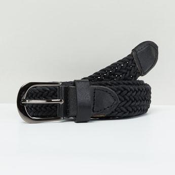 MAX Herringbone Pattern Weave Casual Belt