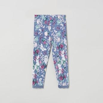 MAX Floral Print Leggings