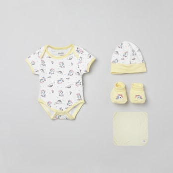 MAX Printed 5-Pc. Infant Gift Set