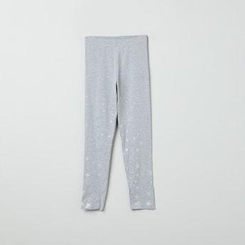MAX Printed Elasticated Leggings