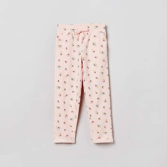 MAX Floral Print Elasticated Pants