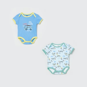 MAX Printed Bodysuits - Pack of 2