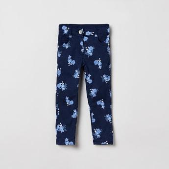 MAX Floral Print Jeans