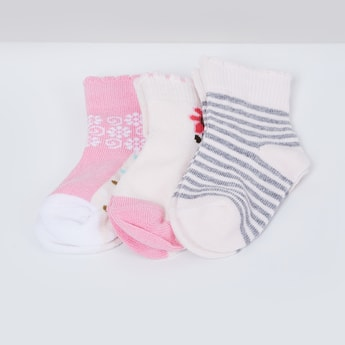 MAX Woven Design Socks- Pack of 3