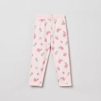 MAX Floral Print Elasticated Pants