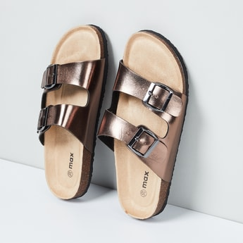 MAX Buckled Strap Sandals