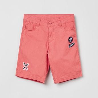 MAX Appliqued City Shorts