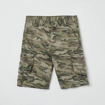 MAX Camouflage Print Bermuda Shorts