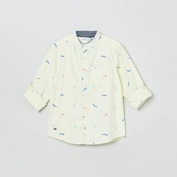 MAX Printed Full Sleeves Casual Shirt