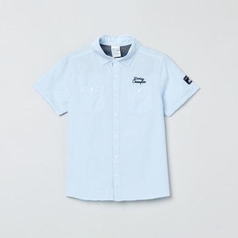 MAX Striped Half-Sleeves Shirt