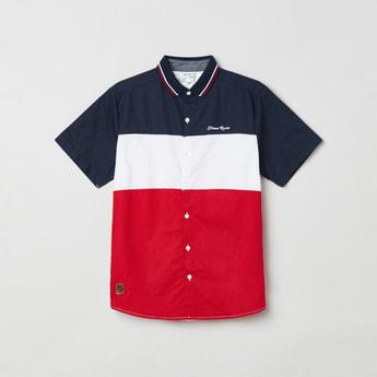 MAX Colourblock Short Sleeves Casual Shirt