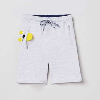 MAX Applique Detailed Casual Shorts