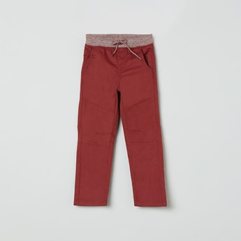 MAX Solid Elasticated Trousers