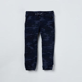MAX Camouflage Printed Elasticated Joggers