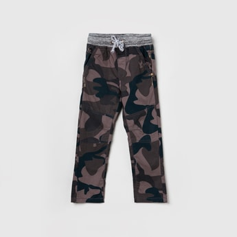 MAX Printed Woven Trousers