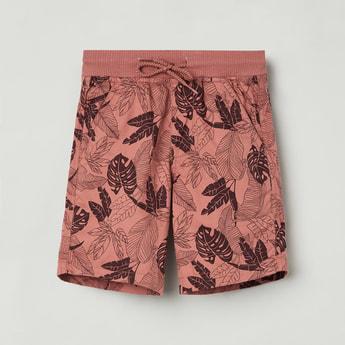 MAX Tropical Print Elasticated Shorts
