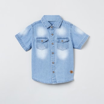 MAX Washed Denim Shirt