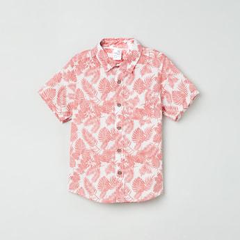 MAX Botanical Print Casual Shirt