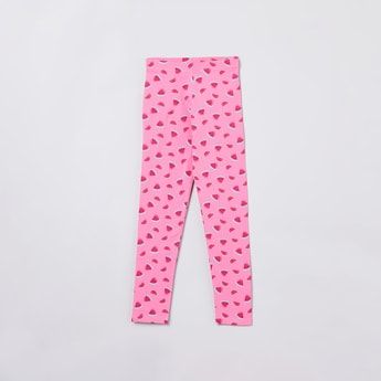 MAX Watermelon Print Knitted Leggings
