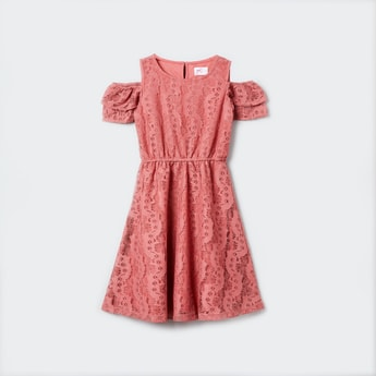 MAX Lace Dress with Cap Sleeves