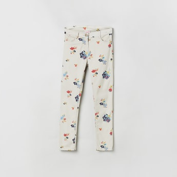 MAX Floral Print Woven Trousers