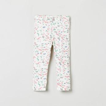 MAX Floral Print Elasticated Pant